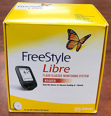 Freestyle Libre Reader Flash Blood Glucose Monitoring System