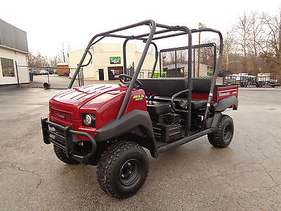 2014 Kawasaki Mule 4010 Trans 4x4 EPS Auto w/ Seating for 4 adults Only 306 hrs