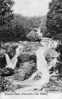 Donard Falls Newcastle Co. Down Ireland Valentines Postcard Posted 13-July-1907