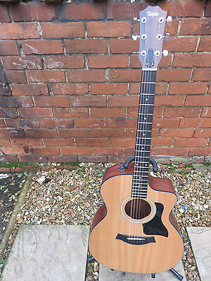 Taylor 114Ce Electro Acoustic Cutaway Guitar.