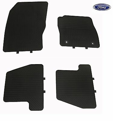 Genuine Ford Focus Rubber floor mats Front & Rear Set of 4 - 1717662/1719999