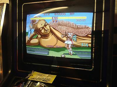 Street Fighter 2 Hyper Fighting JAMMA, Working Arcade PCB Board #2491