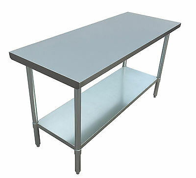"""JET Stainless Steel Commercial NSF Work Table Holds Up to 800 Pounds - 60"""" x 24"""""""