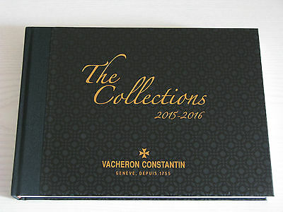 Vacheron Constantin Hard Cover Watch Catalogue 2015 - 2016 Collections - English