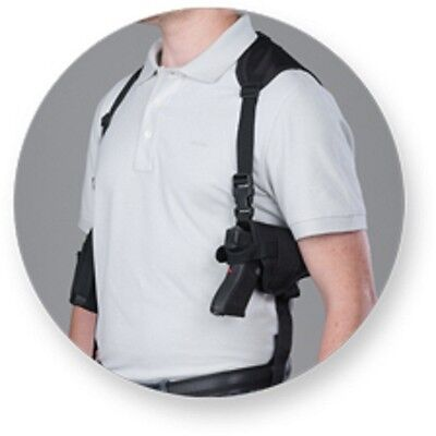 BULLDOG Shoulder Holster With Double Magazine holder for RuGER SR 9C