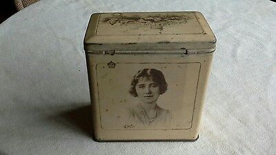 B.W. & M. Ltd Mansfield Collectable Vintage Toffee Tin Royalty Interest
