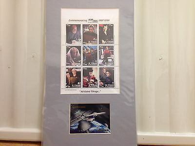 Star Trek The Next Generation All Good Things Stamps