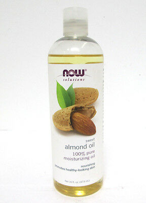 Now Solutions 100% Pure Sweet Almond Moisturizing Oil - 16 oz [HB-A-N]