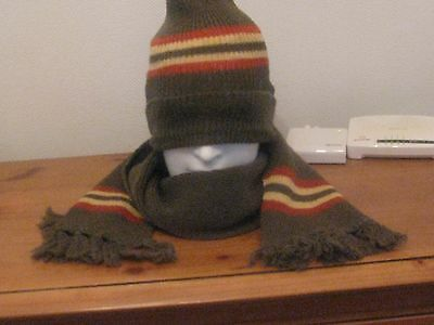 Shetland pure wool hat and scarf