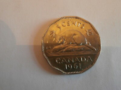 Canada   5 Cents 1961