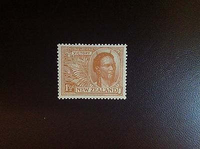 New Zealand 1920 Victory 1 1/2d Brown-Orange SG455 MH