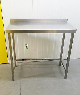 Stainless Steel Industrial Commercial Catering Table With Void Below