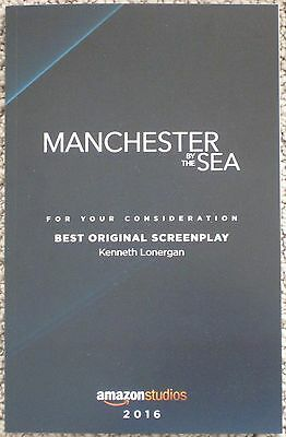 Manchester By The Sea Fyc For Consideration Screenplay Script Kenneth Lonergan