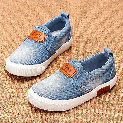 2017 New Children Canvas Shoes Boys Sport Shoes Girls Sneakers Kids Casual Shoes