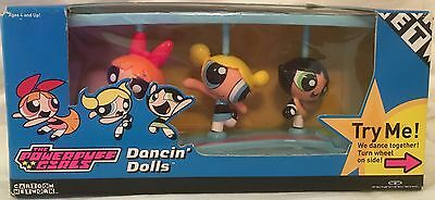 The Powerpuff Girls Dancin' Dolls!!! Absolutely Awesome A1+++++ Brand New Sealed