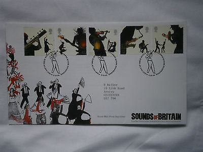 First Day Cover Sounds of Britain 2006
