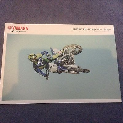 Yamaha 2017 Off Road Competition Range Booklet