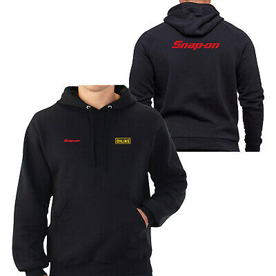 OHLINS /& SNAP-ON TOOLS LOGO EMBROIDERED CLASSIC HOODIE WORK OUTDOOR SPORT GIFT