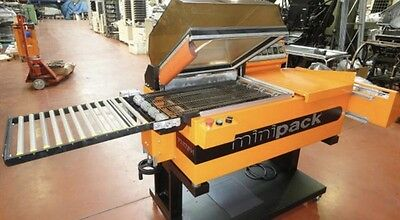Minipack - Torre  RAS. - FM 76. Plastic Shrink Wrapping Machine.