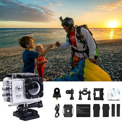 """SJ4000 1080P Full HD 2"""" Sport DV Waterproof Action Camera Camcorder with Mounts"""