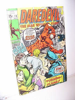 Daredevil, No. 70, November, 1970 US Marvel Comics