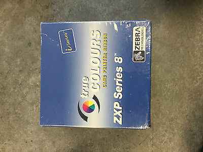 ZEBRA i-series CARD PRINTER RIBBON ZXP SERIES 8 YMCK 625 IMGS