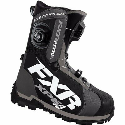 FXR Racing Elevation Lite BOA Focus Mens Snowboard Skiing Sled Snowmobile Boots