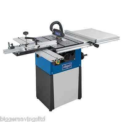 """Scheppach Precisa TS82 8"""" Cast Iron Table Saw with Sliding Carriage"""
