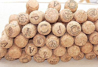 200 Used French Champagne Corks,