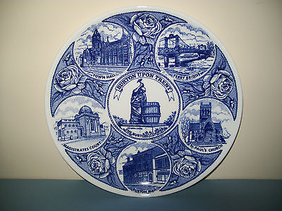 Burton upon Trent - Burton Daily Mail Commemorative Plate - The Burton Cooper