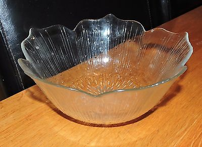 Arcoroc French glass Fruit Bowl
