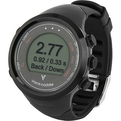 Voice Caddie T1 GPS Watch | Black | Last 2 Remaining @ This Price!