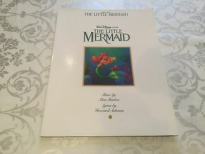 The Little Mermaid Piano Vocal Sheet Music Book