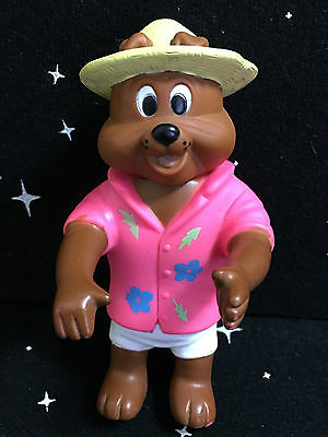 """Vintage 1989 TOM & JERRY SPIKE The Dog Toy Action Figure Bulldog 4.5"""" Tall"""
