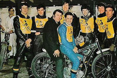 Coventry Bees 1970 Speedway Team Photograph