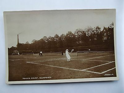 DUMFRIES - TENNIS COURTS, DUMFRIES  EARLY 1900s