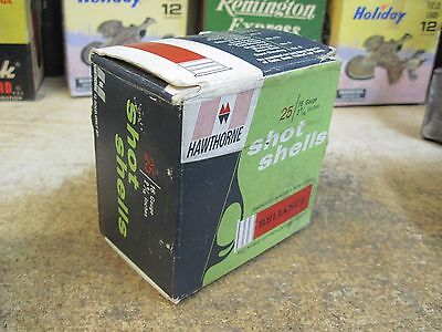 HAWTHORNE RELIANCE empty 16 GA SHOTGUN shot shell  box ORIGINAL USA HUNTING