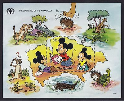 Gambia Block 122 (1206) **, Walt Disney - Mickey Mouse & Donald Duck
