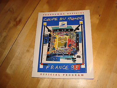 France 1998 Official Programme
