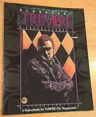 WW2057 Clanbook: Tremere (1st edition) - White Wolf Vampire the Masquerade WoD