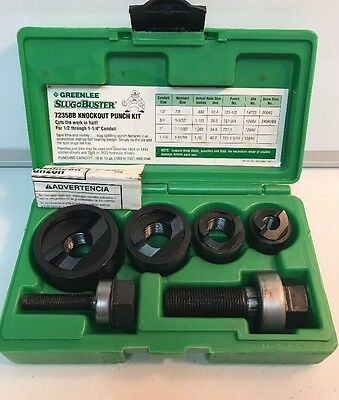 (dp) GREENLEE SLUG BUSTER 7235BB KNOCKOUT PUNCH KIT     T5052