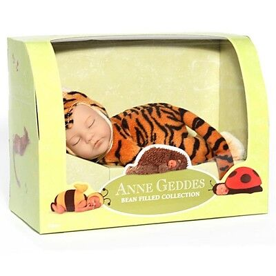 Anne Geddes Bean Filled Collection  Doll Baby Tiger
