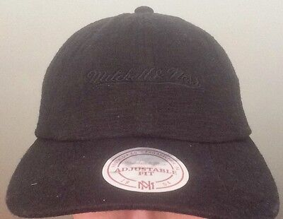 Mitchell & Ness Black Adjustable Cap Brand New *Limited Edition*
