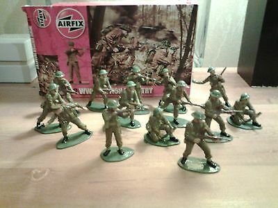 1/32 scale airfix british infantry painted
