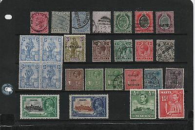 Malta Mint And Used Selection