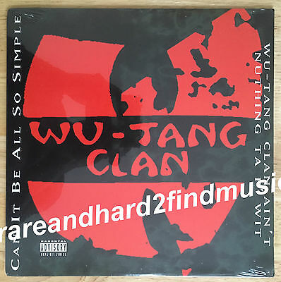 """Wu-Tang Clan CAN IT BE ALL SO SIMPLE Original 1994 USA Vinyl 12"""" Single SEALED"""