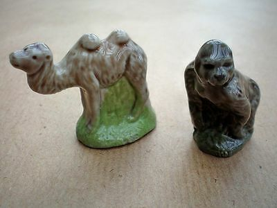 2  WADE WHIMSIES     Set 7   1976     Camel and Gorilla