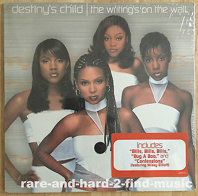 Destiny's Child WRITING'S ON THE WALL 1999 US Vinyl 2LP Beyonce SEALED MINT RARE