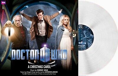 Doctor Who A Christmas Carol limited edition white vinyl. Brand New And Sealed