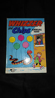 Whizzer And Chips Vintage Comic Book Annual 1986